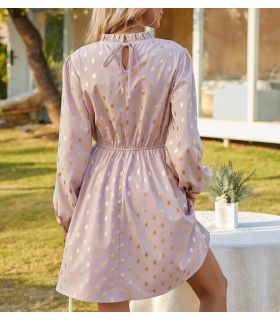 Vestido de puntos - Talla M - ME06-M