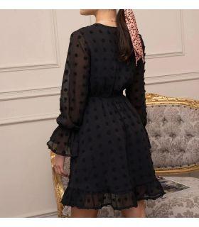 Vestido negro - Talla S - ME09-S